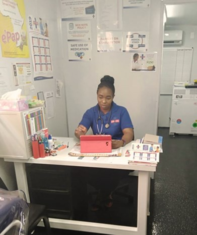 Pamela Sedibe – Unjani Clinic's dedicated owner