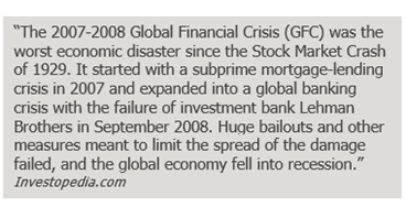 fast facts: the 2007-2008 global financial crisis